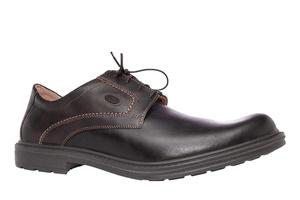 Kožne cipele na pertlanje, braon
