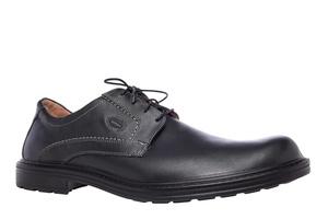 Kožne cipele na pertlanje, crne