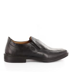 Zapatos de vestir de caballero en piel color negro