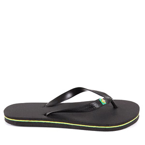 Beach Flip Flops in colour Black