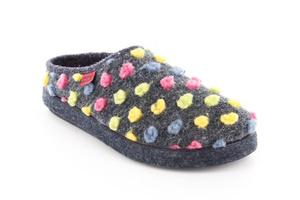 Zapatillas Alpinas de puntos multicolor