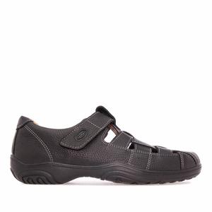 Zapatos de Piel Negro