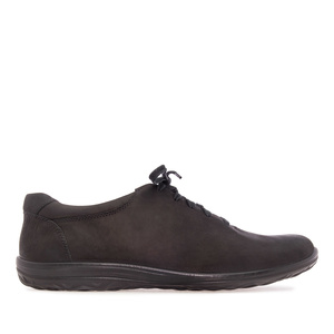 Zapatos de caballero de cuero Negro