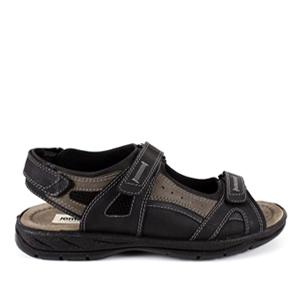 Kožne sandale u braon boji