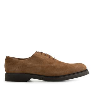Zapato de vestir en Serraje de color Marrón