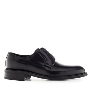 Schwarze Herrenschuhe im Derby-Stil - MADE in SPAIN -