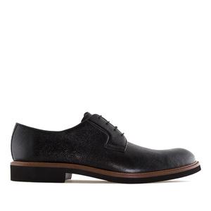 Chaussures en Cuir Noir