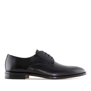 Men's Dress Black Leather Shoes