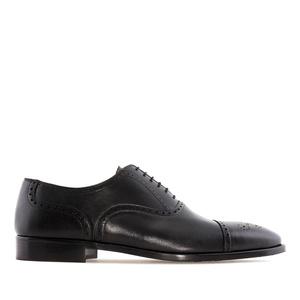 Zapatos estilo Oxford en Piel Negro