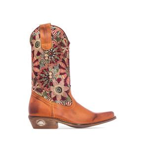 Preciosa bota estilo cowboy