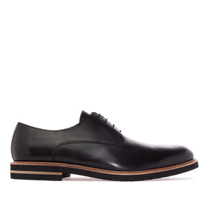 Men's Shoes in Black Leather