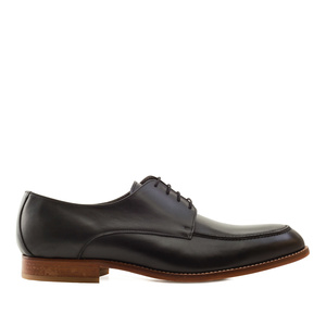Men's Oxford Shoes in Black Leather