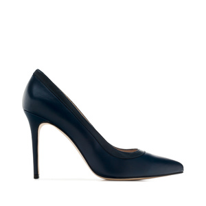 Stilettos in Navy Leather