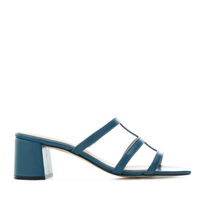 Sinised  nahast sandaalid