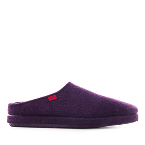 Very comfortable Purple Alpine Felt Slippers
