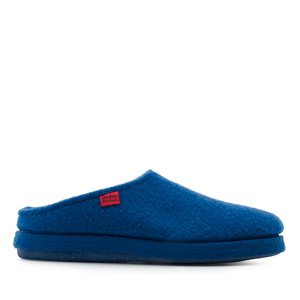 Very comfortable Blue Alpine Felt Slippers