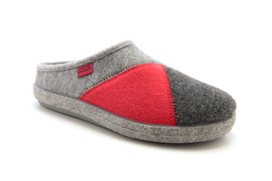 Zapatillas Alpinas Multi Color Gris Rojo.