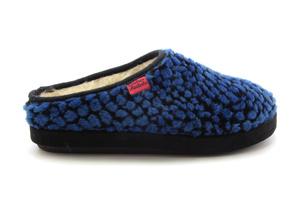 Zapatillas Alpinas de puntos Azul.