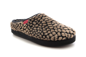 Brown Spotted Alpine Slippers