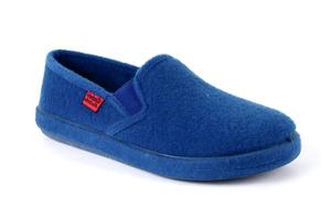Anatomske zatvorene papuče, plave