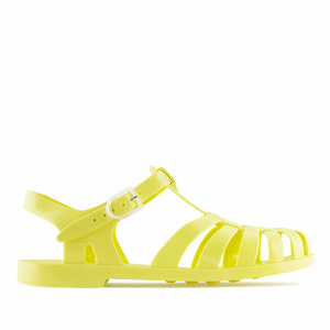 Yellow Plastic Water Sandals