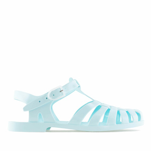 Sky Blue Plastic Water Sandals