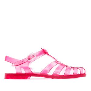 Sandály do vody. Barva tmavě růžová.