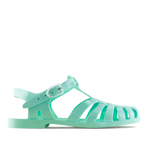 Turquoise Plastic Water Sandals