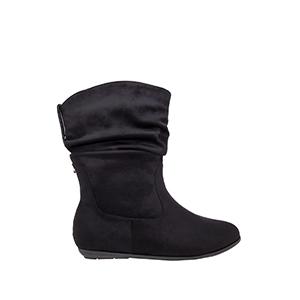 Antilop čizme sa podesivom dubinom, crne