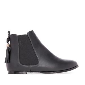 Plitke Chelsea čizme, crne