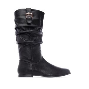 Duboke ravne čizme, crne