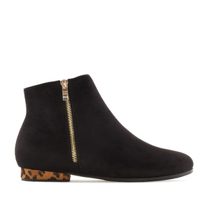 Bottines Daim Noir