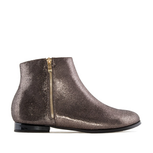 Bottines Gloss Bronze