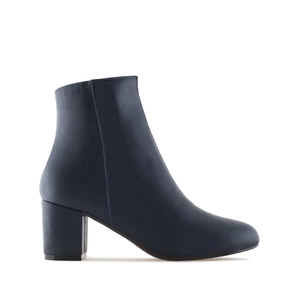 Stiefelette in Soft-Marineblau