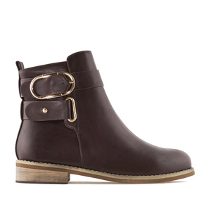 Bottines Soft Marron