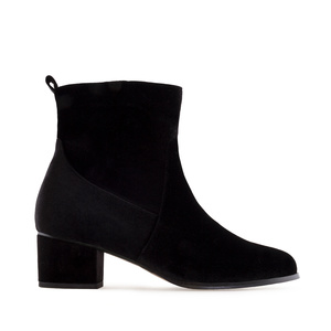 Bottines Velvet Noir