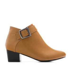 Bottines Soft Camel