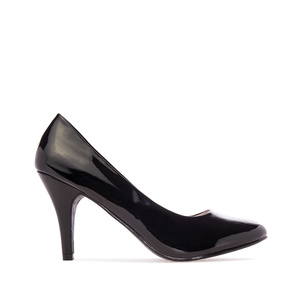 Elegant Black Patent Pumps