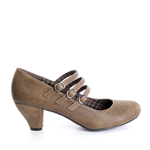 Zapatos Mary Jane en Soft Siena