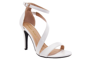 Sandały Soft Białe z Bransoletką