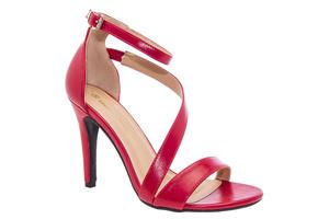 Sandały Soft Czerwone z Bransoletką