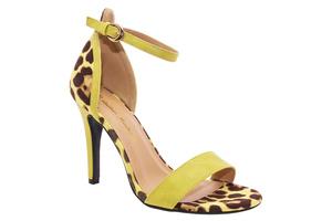 Sandały Soft Żółte z Bransoletką