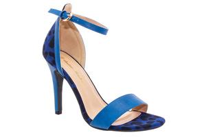 Sandały Soft Niebieskie z Bransoletką
