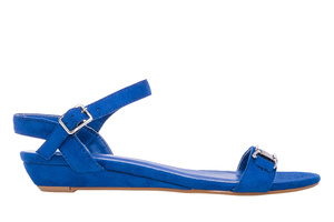 Klasične sandale, antilop plave