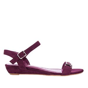 Klasične sandale, antilop bordo
