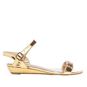 Klasične sandale, zlatne