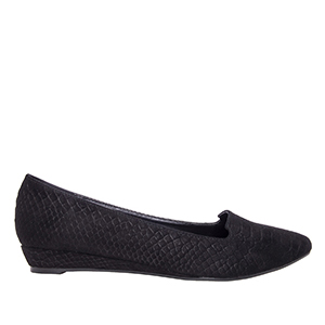 Slipper Serpiente Negro