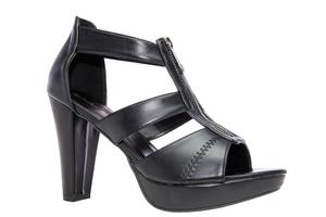Sandały Zamek Soft Czarne