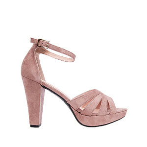 Antilop sandale na štiklu, drap