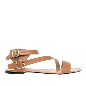 Sandale rimljanke, soft braon